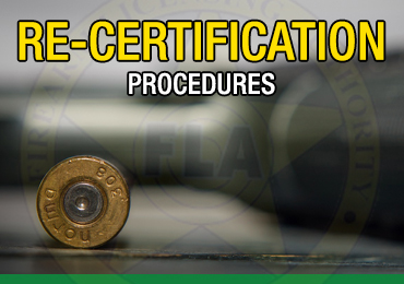 Recertification procedures